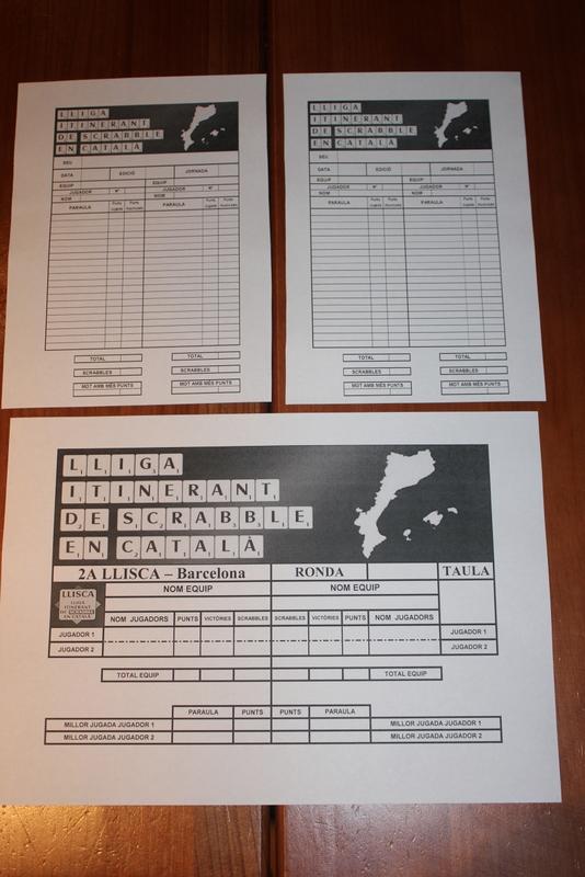 Els formularis de la LLISCA: fulls d'anotació i full resum d'enfrotament
