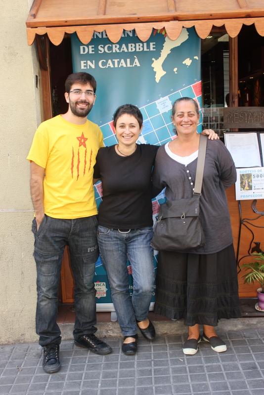 11. LA TRÍADA: Isaac Asensio, Sandra Juncosa i Núria Casas