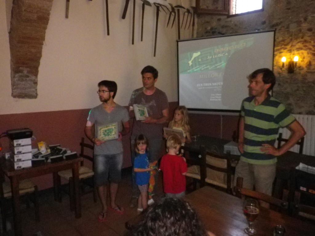 Equip guanyador: Els Tres Motsqueters