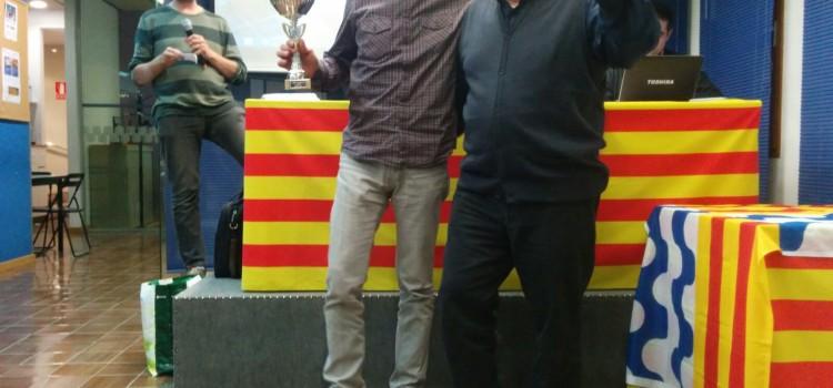 Miquel Sesé, campió del VI Obert dels Països Catalans