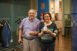 Maria Lluïsa Penelas, premi a la millor jugada amb la lletra B