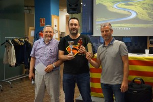 Joan Andreu, 3r classificat