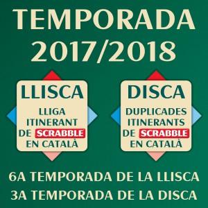 Temporada 2017-2018 de la LLISCA i la DISCA